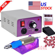 newest professional electric acrylic nail drill file machine kit w