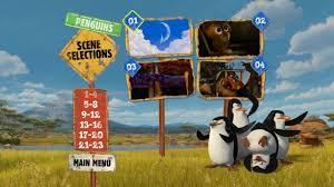 madagascar escape 2 africa 2008 dvd movie menus