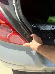 nissan versa bumper replacement how to change the tail light on your nissan versa do it