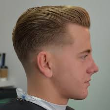haircut with weight line photo 3 vintage slick pompadour styles barber brian burt