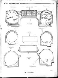 yj instrument cluster manual