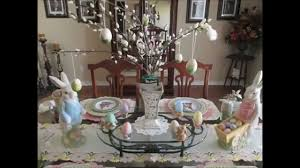 Victorian Easter Decorations by Easter Spring Decor Home Tour 2015 Youtube