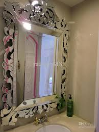 Mirrors For Bathroom Wall Mr 201119 Glass Venetian Bathroom Wall Mirror Mirror Decor