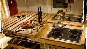 Kitchen Sink Spanish - spanish designers transform recycled pallets into a rustic kitchen