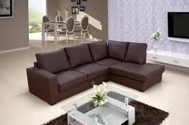 canapé d angle cuir marron salon cuir marron fonce chaios com