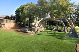 backyard playsets landscape contemporary with basketball court