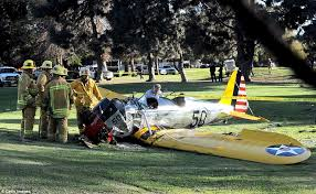 harrison ford crashes plane boeing 737 daily