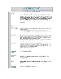 Accounting Resume Experience The No Experience Resume Style How To Create A Solid Resume With