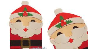 diy santa claus card greeting card