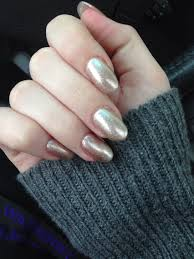 gold oval acrylics nail designs pinterest crazy nails