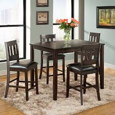 Tall Dining Room Sets by Hillsdale Tiburon 5 Piece Counter Height Dining Set Espresso