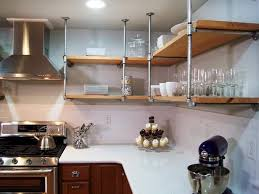 Open Shelves Kitchen 13 Best Diy Budget Kitchen Projects Open Shelves Industrial