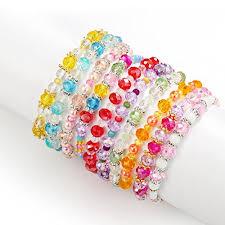 beaded bracelet crystal images Pinksheep friendship bracelets for kids crystal beaded bracelets jpg