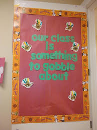 092430 thanksgiving door decorations kindergarten decoration ideas