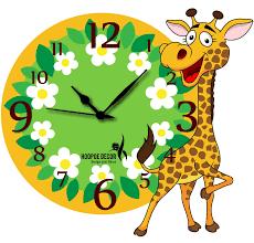 kids room design best wall clocks for kids room design ide