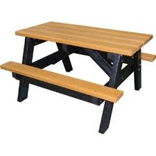 recycled plastic picnic tables a frame recycled plastic picnic table the plastic company