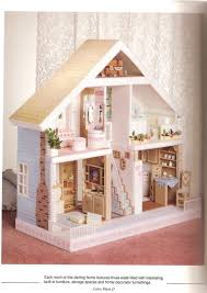 Free Barbie Dollhouse Furniture Plans by Plastic Canvas Doll House Sought After Because Of Its Unique