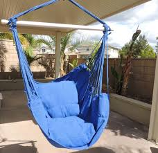 Patio Chair Swing Amazon Com Hammock Chair Hanging Rope Chair Porch Swing Outdoor