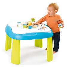 table d activité avec siege rotatif table d éveil youpi baby bleu smoby king jouet activités d