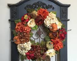 fall wreaths fall front door wreaths pumpkins fall decor