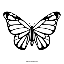 butterfly outline or silhouette basic shapes 3 u2013 gclipart com