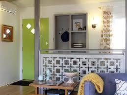 Half Wall Room Divider Interior And Exterior Space Saver Portable Partition Walls Half