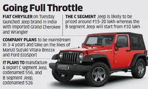 where is jeep made after bringing in luxury suvs jeep plans locally made vehicles in