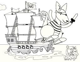 free kid coloring pages jumpin u0027 joey coloring pages