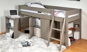 lit bureau combiné lit combiné avec bureau étagère groupon