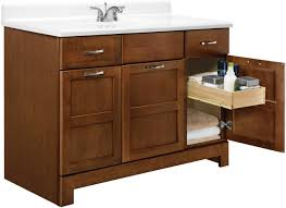 Bathroom Vanity  Inch Rsi Home Products Ca Richmond - 48 white bathroom vanity cabinet