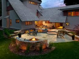 Patio Fire Pit Designs Ideas Backyard Patio Ideas With Fire Pit Landscaping Backyard Patio