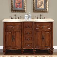 Bathroom Vanity Stone Top by Amazon Com Silkroad Exclusive Marble Stone Top Double Sink