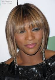 midway to short haircut styles blonde serena williams wearing her hair midway upon her neck