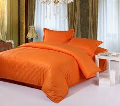 Orange Comforter Solid Orange Comforter Emerson 4pc Pinched Pleat Comforter Set