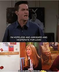 Chandler Meme - rachel and chandler