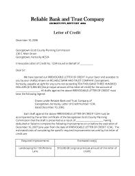 international letter of credit letter idea 2018