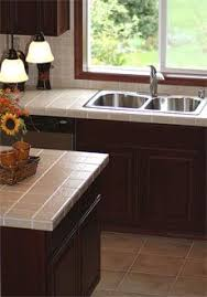 Kitchen Cabinets Kitchen Countertop Tile by Best 25 Tiled Kitchen Countertops Ideas On Pinterest Diy