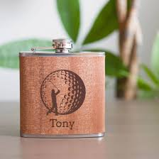 personalized flask golf flask best man flask groomsman gift
