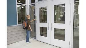 Entry Vestibule by K 12 Access Control Begins At The Front Door Securityinfowatch Com