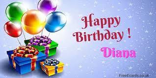 happy birthday diana free ecards