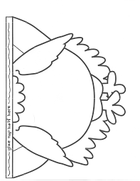 free printable turkey pattern coloring cutouts for