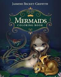 mermaids coloring book jasmine becket griffith 9781925538236