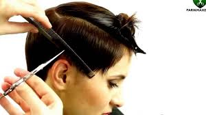 short hair and side bangs short undercut hairstyle