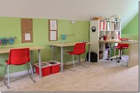 our new homeschool room