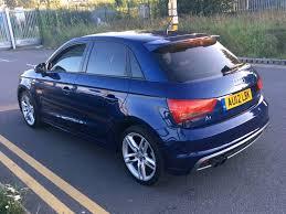 2012 audi a1 1 4 tfsi s line manual 5 door blue low mileage