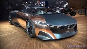 pijot car peugeot onyx supercar concept world premiere at paris 2012 youtube