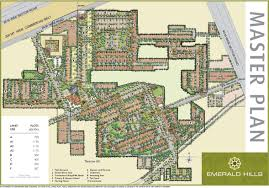 numbering plan of emaar mgf emerald estate gurgaon apartments