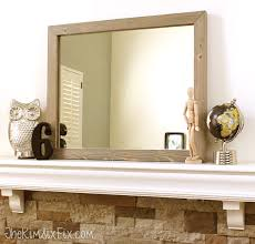 tongue and groove table saw west elm inspired wood framed mirror