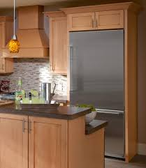 Fridge Cabinet Size Kitchen Counter Depth Interiors Design