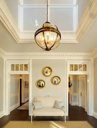chandeliers 2 story entryway lighting how low to hang a